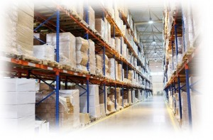 Warehousing Storage Distribution, parts being held in the depot awaiting inspection or dispatch