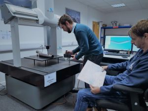 CMM training courses - one of the QCI applications engineers training in level 1 & level 2 in the CMM training , engineering drawing inspcetion to the cmm training course