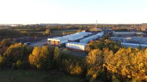 DRON VIEW OF THE QCI HEAD OFFICE AND METROLOGY LAB
