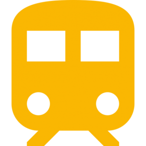 orange train icon